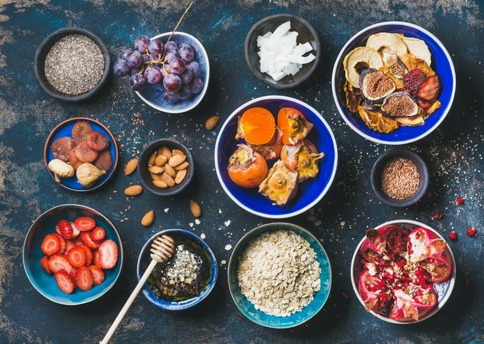 Matvarer med høyt innhold av antioksidanter