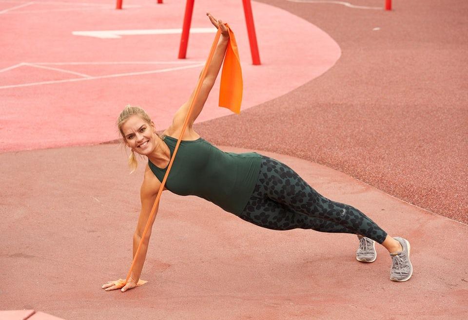 Elastiktræning – lav øvelser med elastik