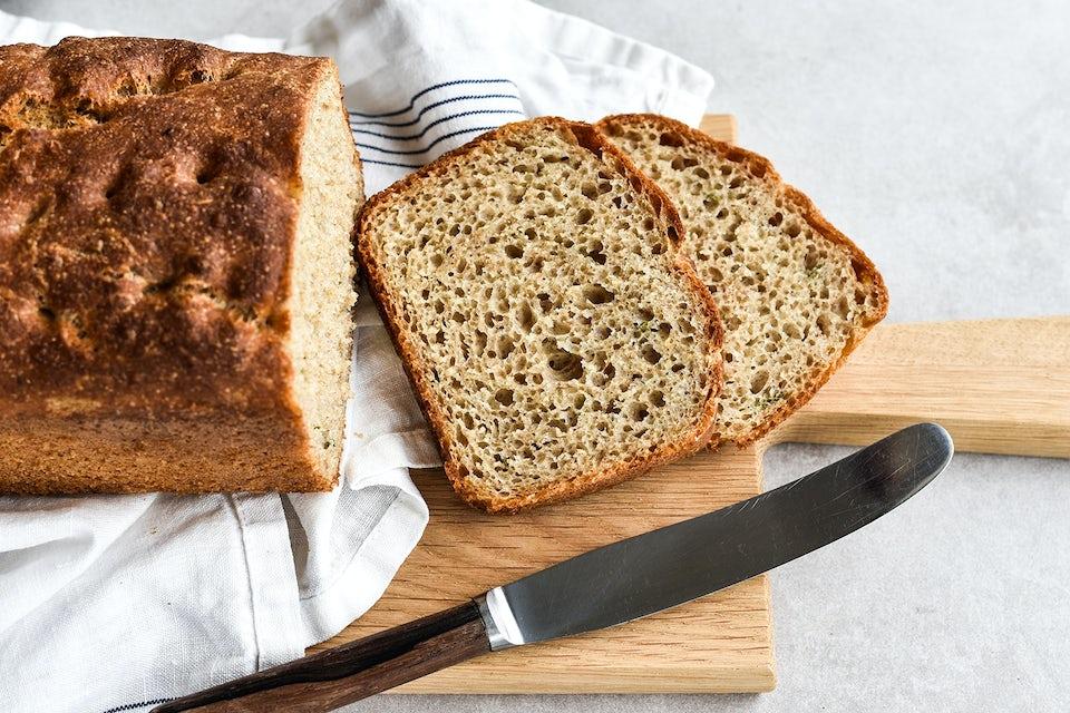 Hembakat bröd