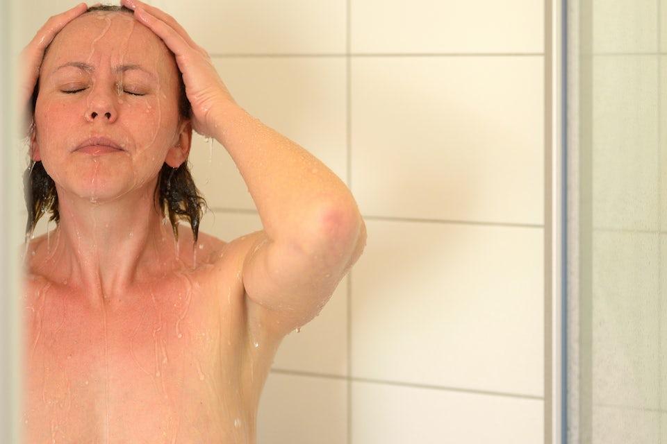 Kvinde i bad