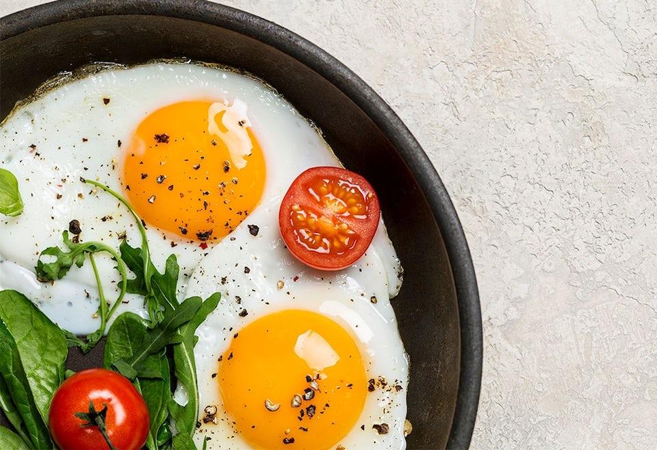 Paistettuja munia