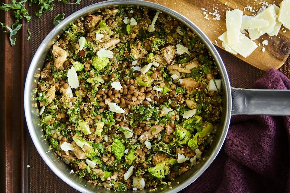 Vegetarisk one pot