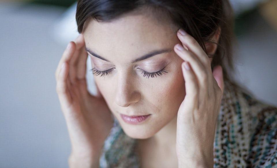 Kvinna har fått hjärnskakning