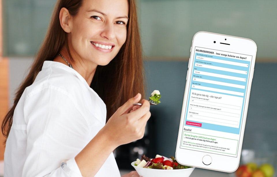 Beregn dit kaloriebehov med I FORMs kalorieberegner – gratis