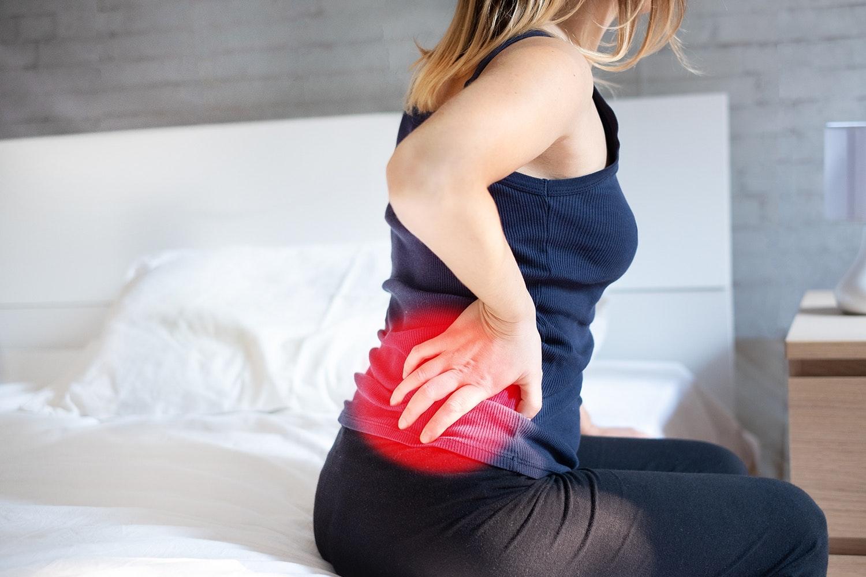 akutt låsning i ryggen
