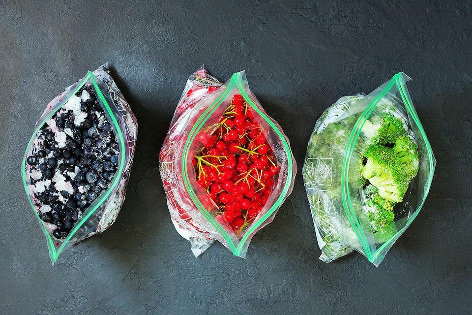 Bær i fryseposer