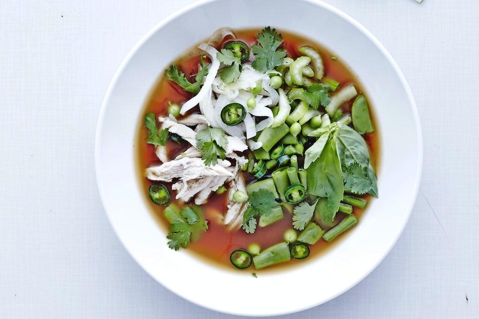 Suppe på boullion