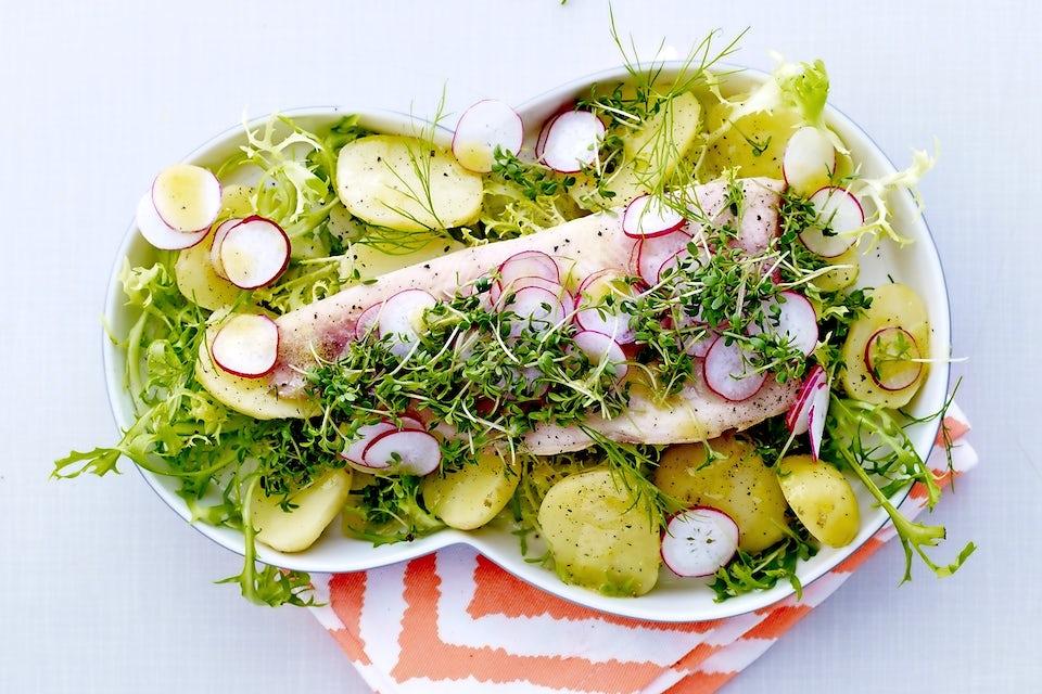Kalaa ja perunaa