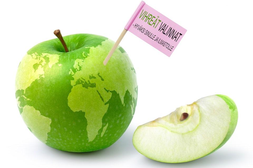 Vihreitä omenoita