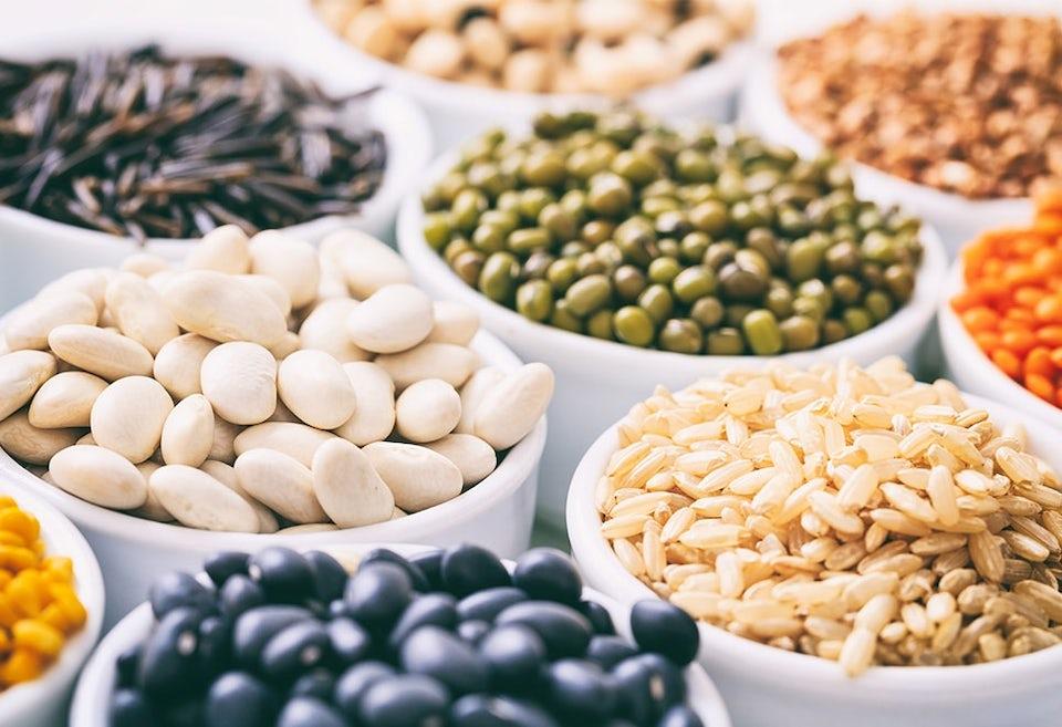 Råvarer med protein