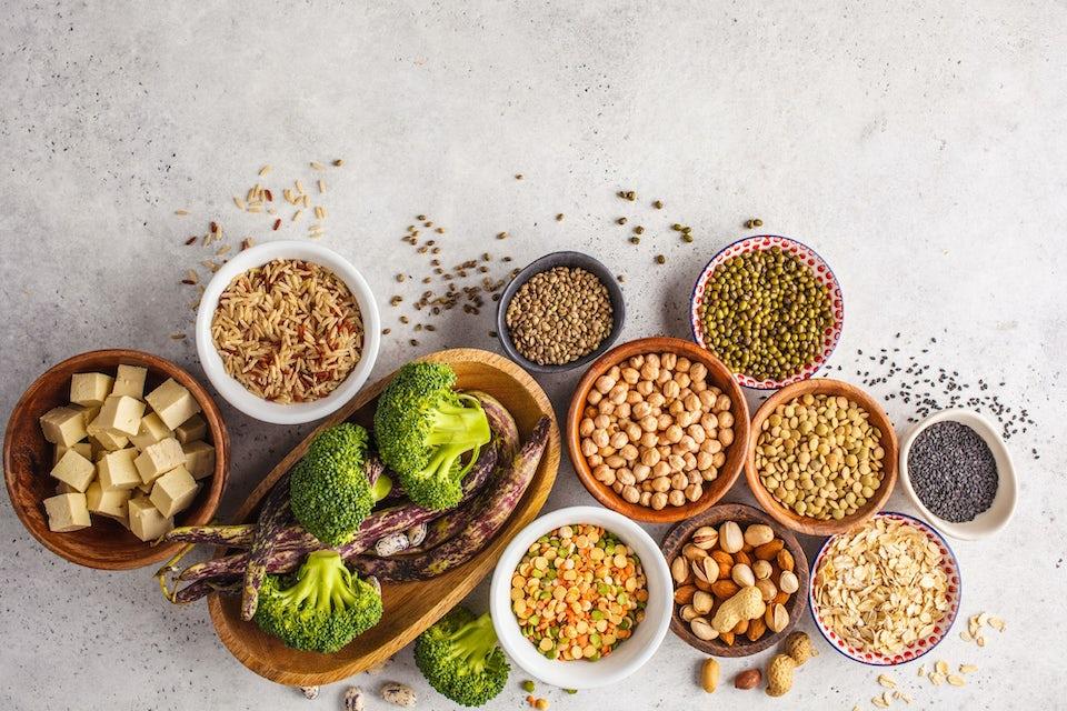 Proteinkilder for vegetarianere