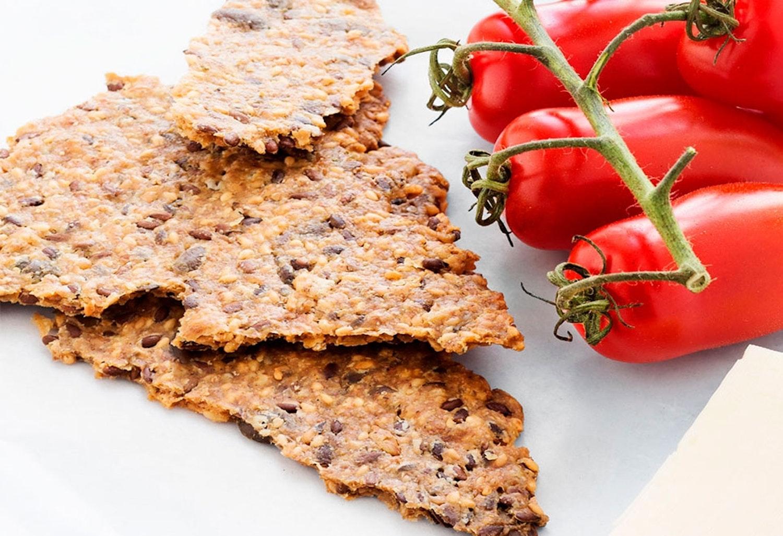hembakat knäckebröd recept
