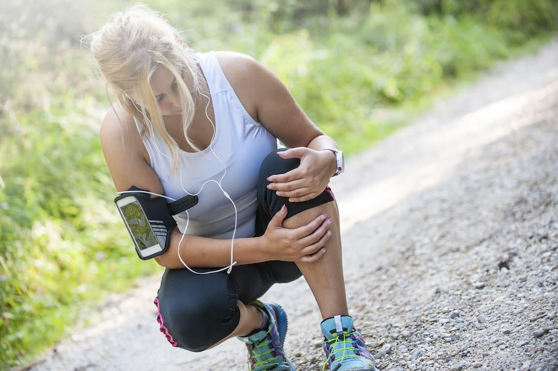 artros knä löpning
