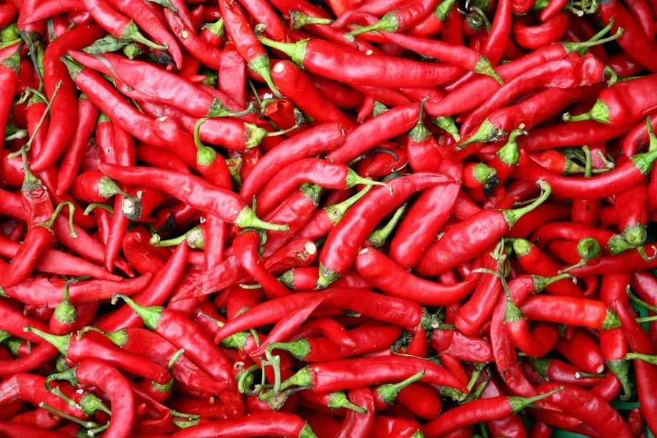er chili farligt for maven