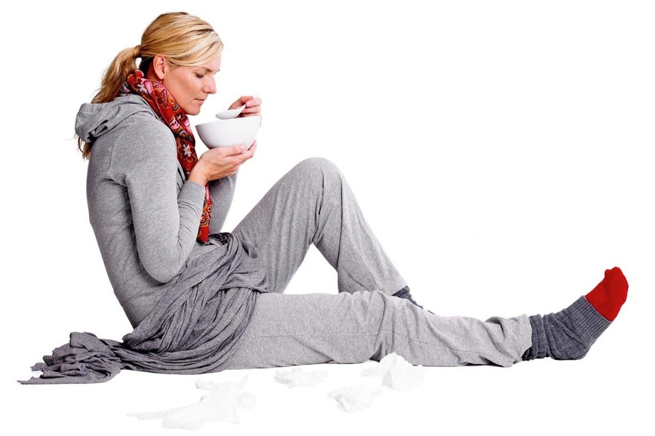 kur mod forkølelse