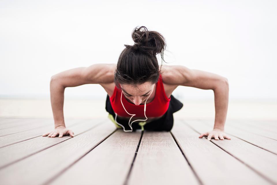 Ylävartalon voimatesti, vastaavatko voimasi ikääsi?