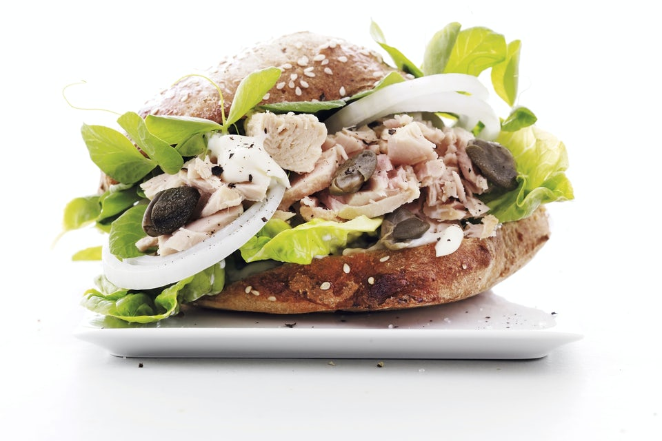 Tunfisk-sandwich
