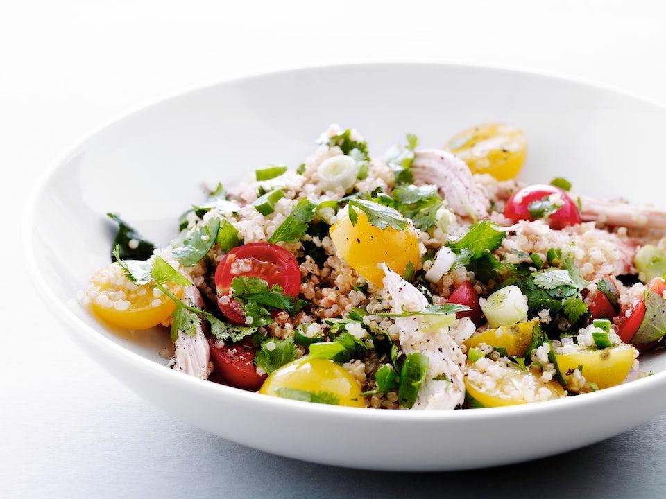 Skål med salat