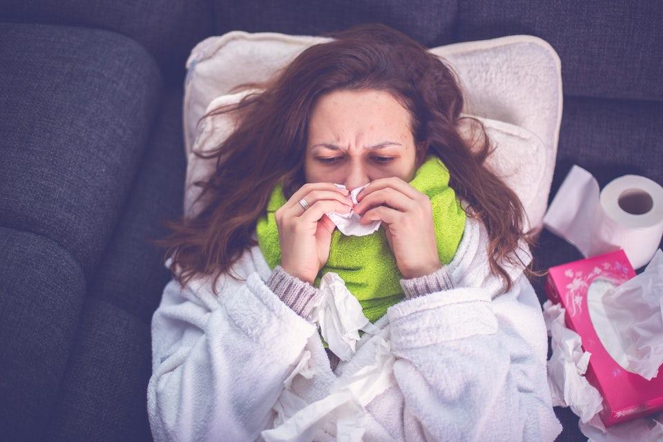 Snørr, forkjølelse, sykdom