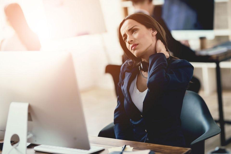Kvinde lettere stresset