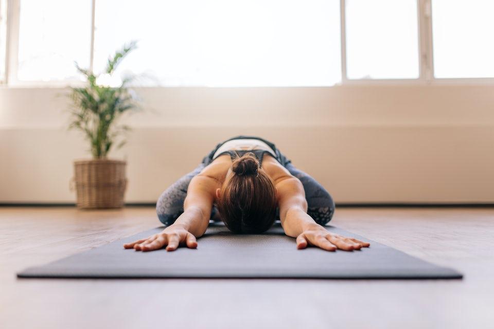 Yoga trening