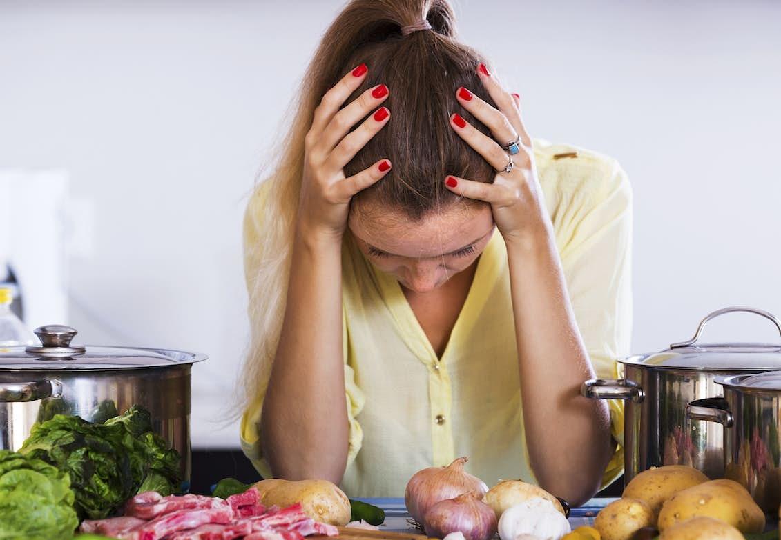 mat mot huvudvärk