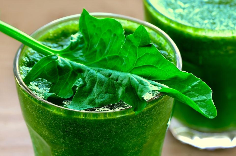 Spinat-juice