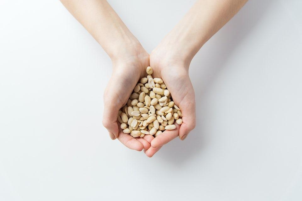 kourallinen pähkinöitä