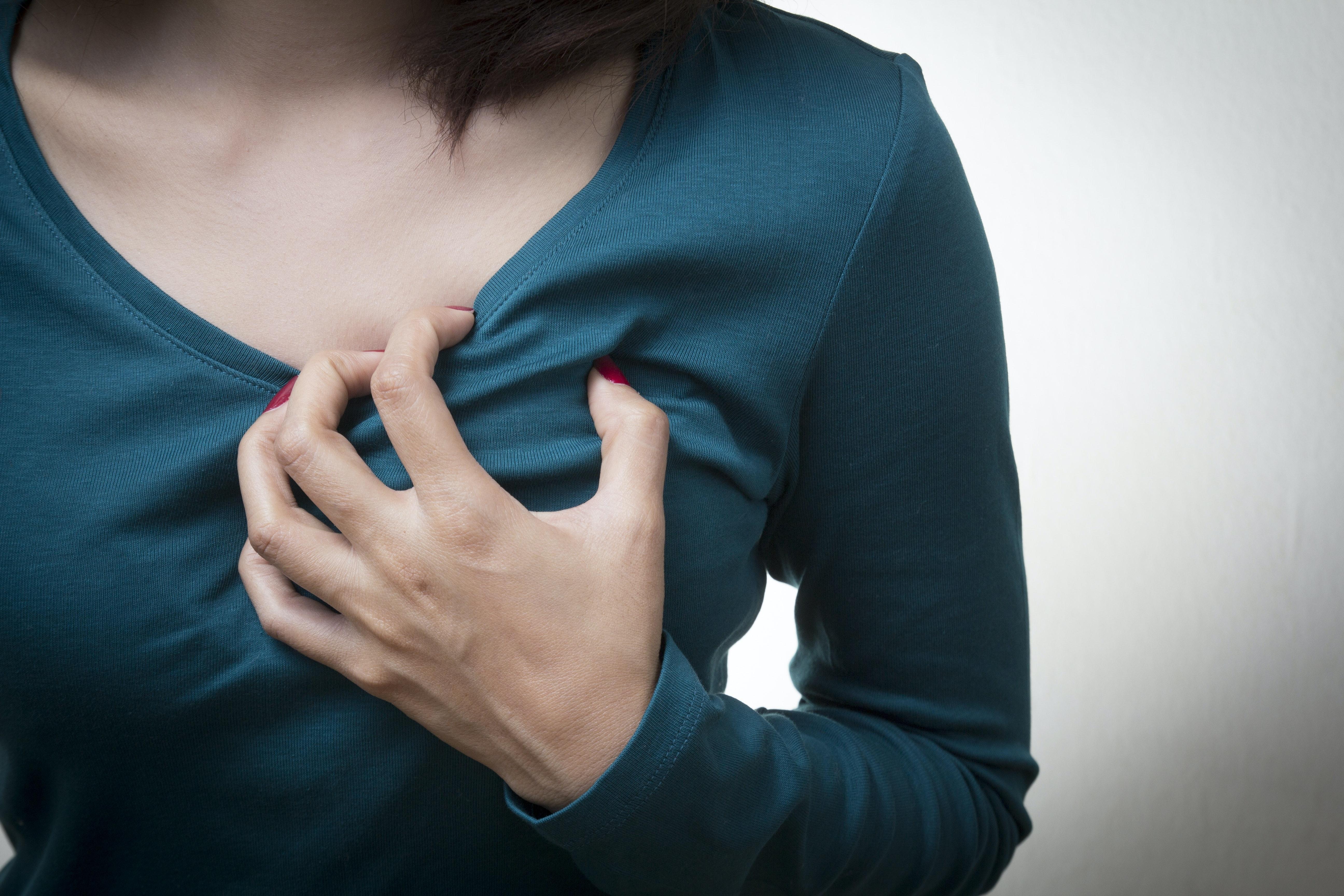 ilningar i bröstet gravid