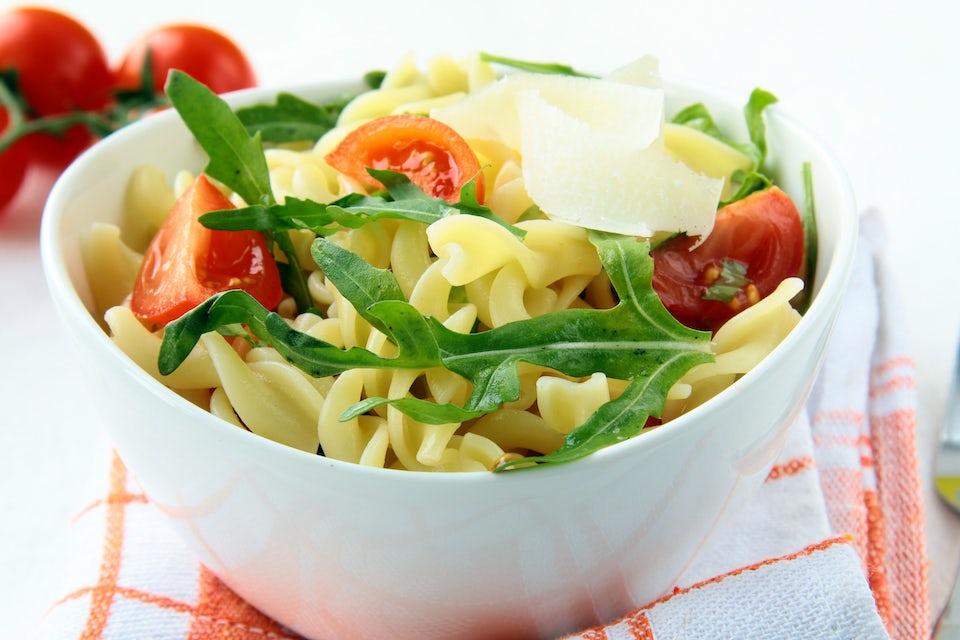 Slank med kall pasta