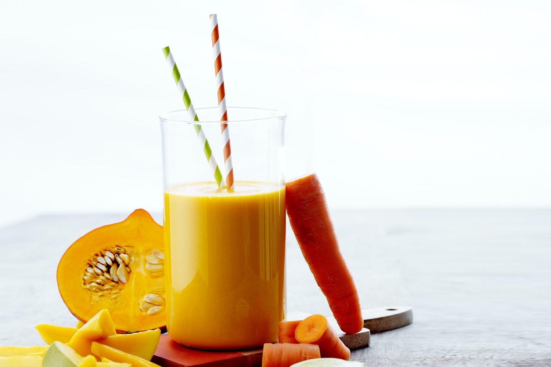sunne smoothies med grønnsaker