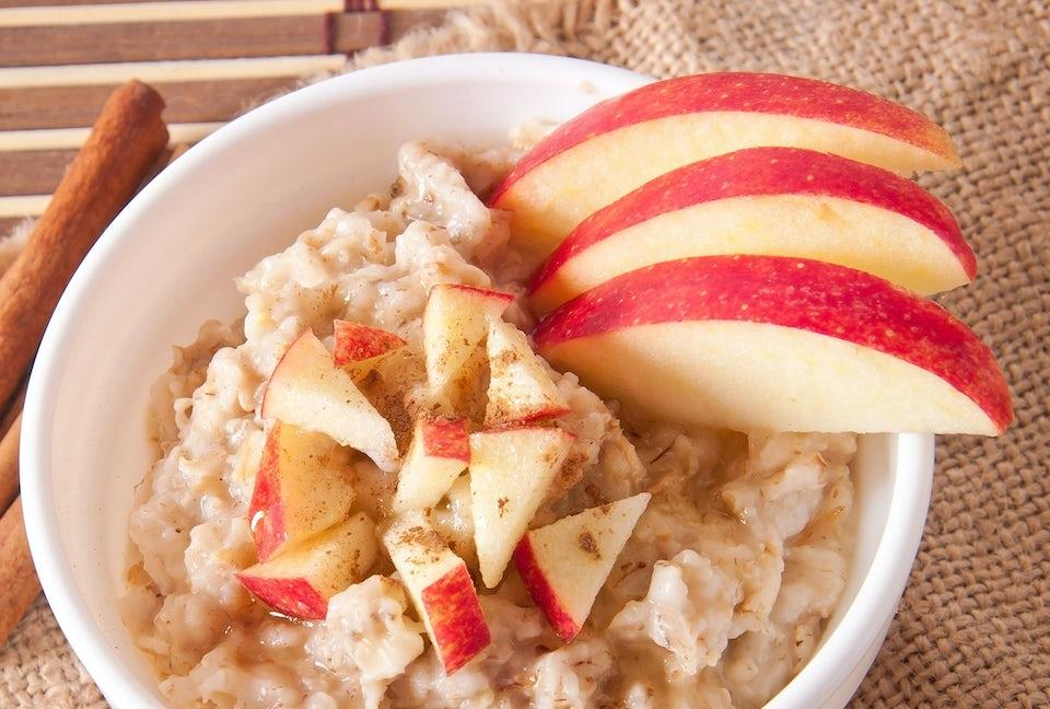 Havregrynsgröt med äpple – 5:2-dieten recept