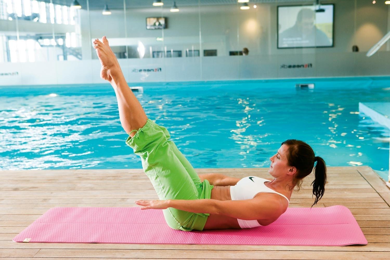 ont i magen efter hård träning