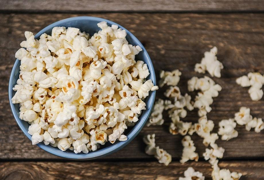 hur många kalorier är det i popcorn