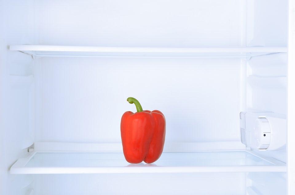 Sundeste grøntsager - rød peberfrugt