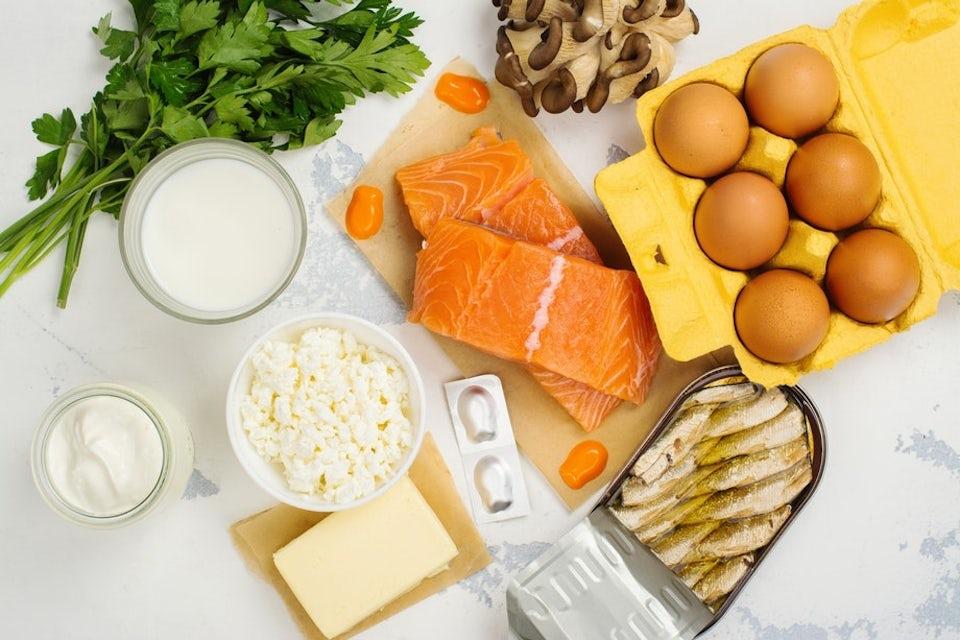 Rasvaisesta kalasta saa eniten D-vitamiinia.