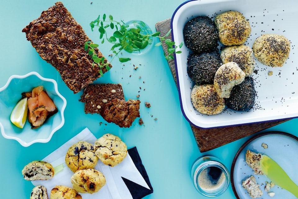 Glutenfri brød, boller og scones