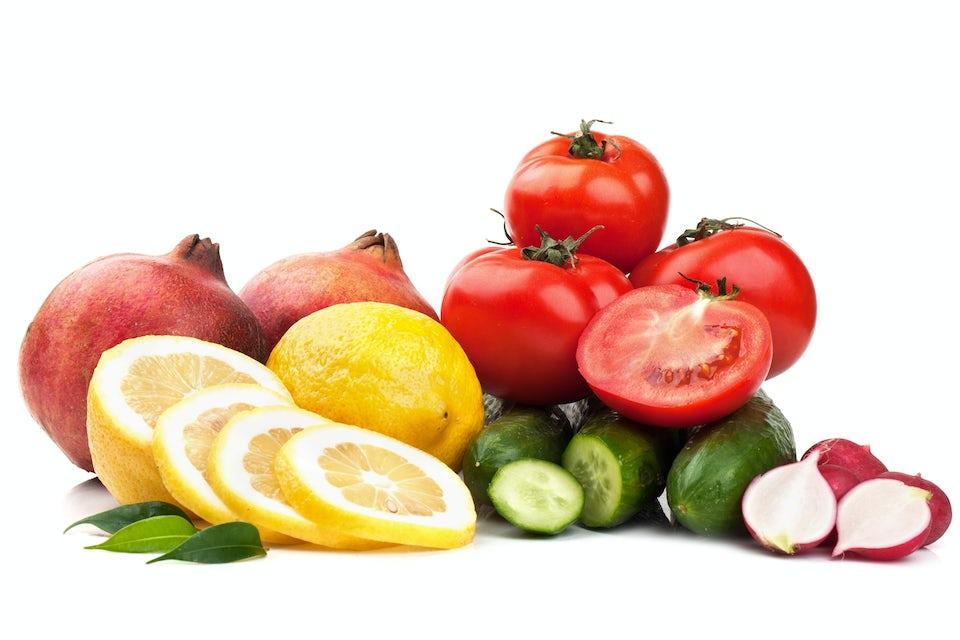 Frukter och grönsaker