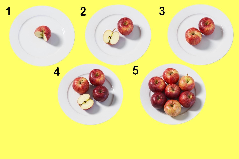 hur många kalorier om dagen