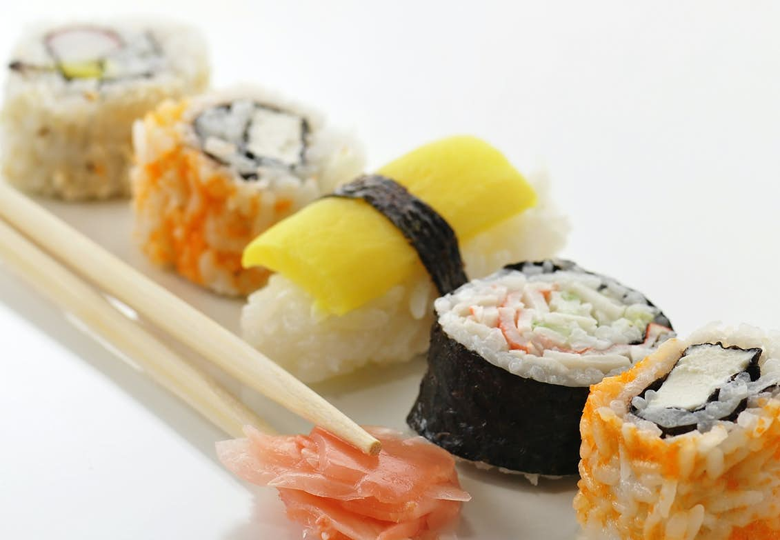 vilken sushi kan man äta som gravid