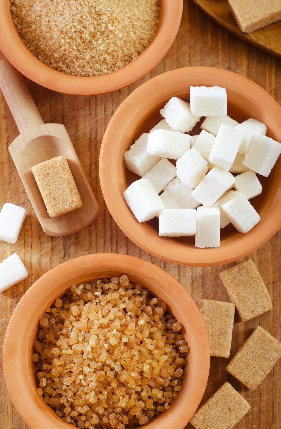 Makeutusaineet, sokeri ja stevia
