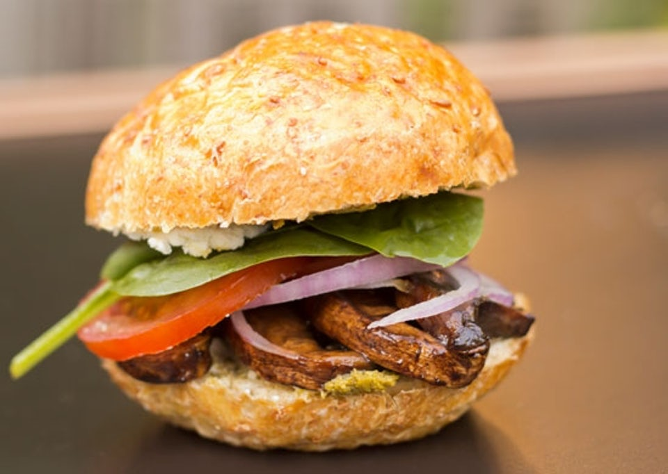Portobelloburger – 5:2-kuren opskrifter