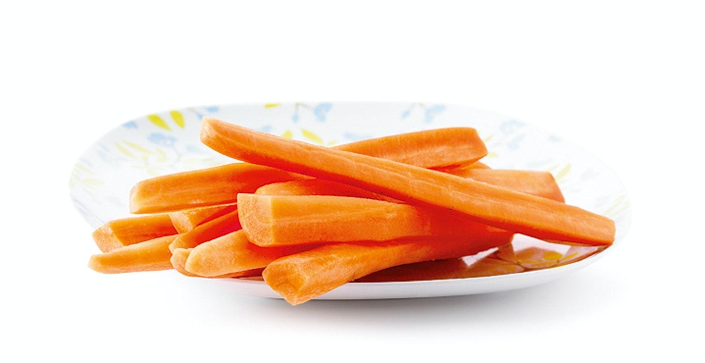 bättre syn av morötter