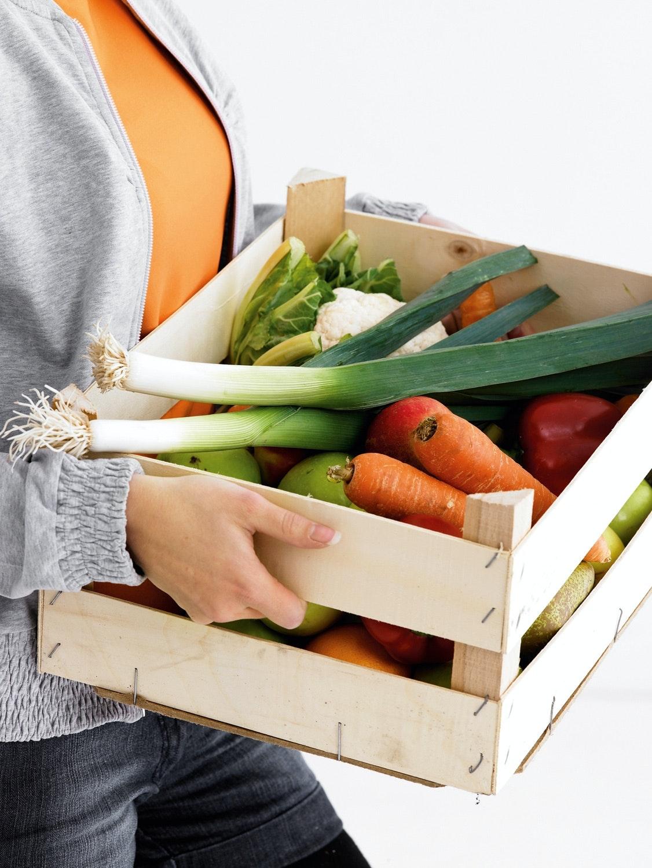 grøntsager opbevaring