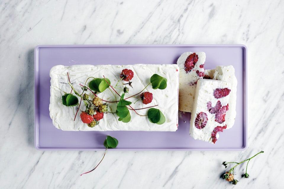 Is med hindbær