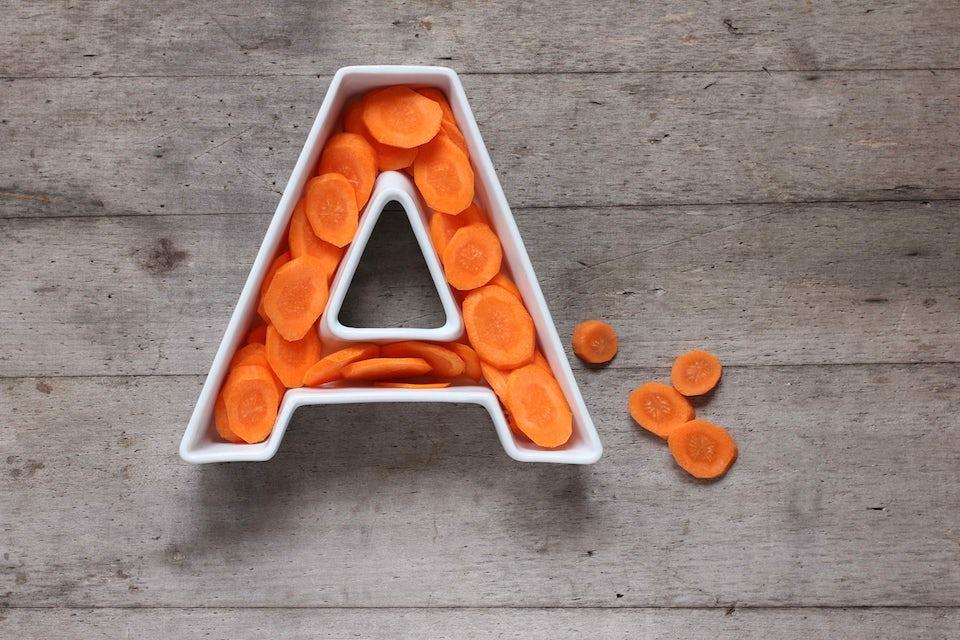 A-vitamin og gulerødder