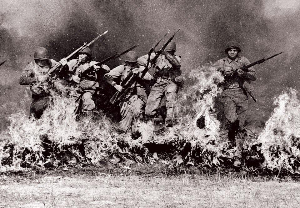us army rangers eldhinder 1943 utbildning