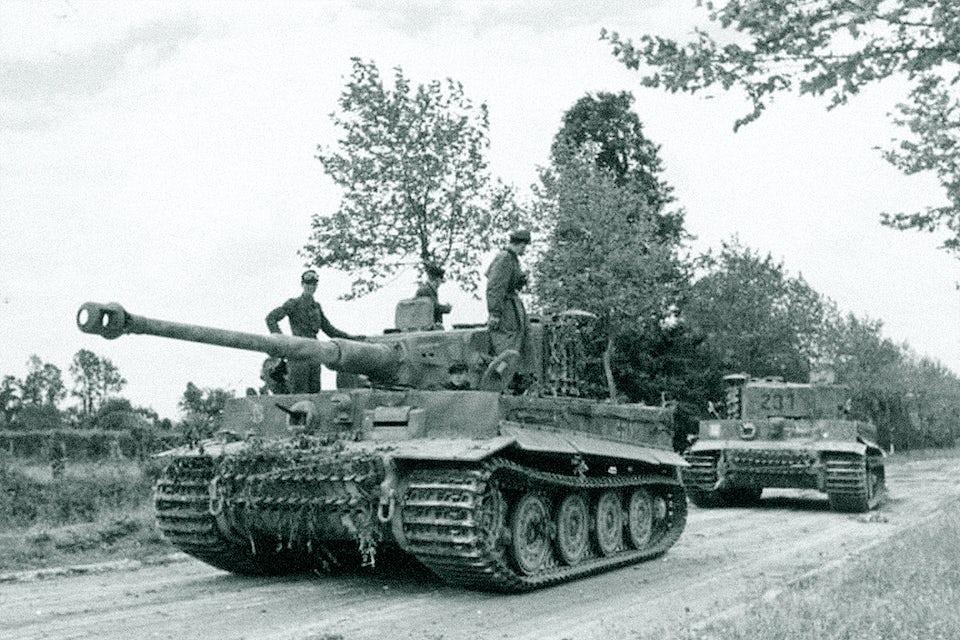 villers bocage tiger stridsvagn