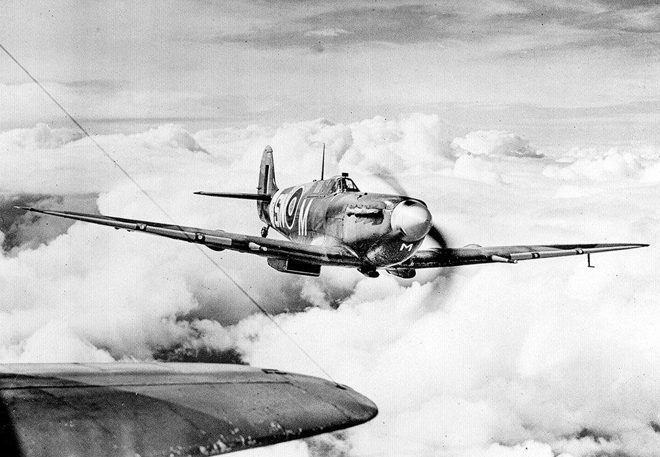 spitfire mkv 1942 andra varldskriget