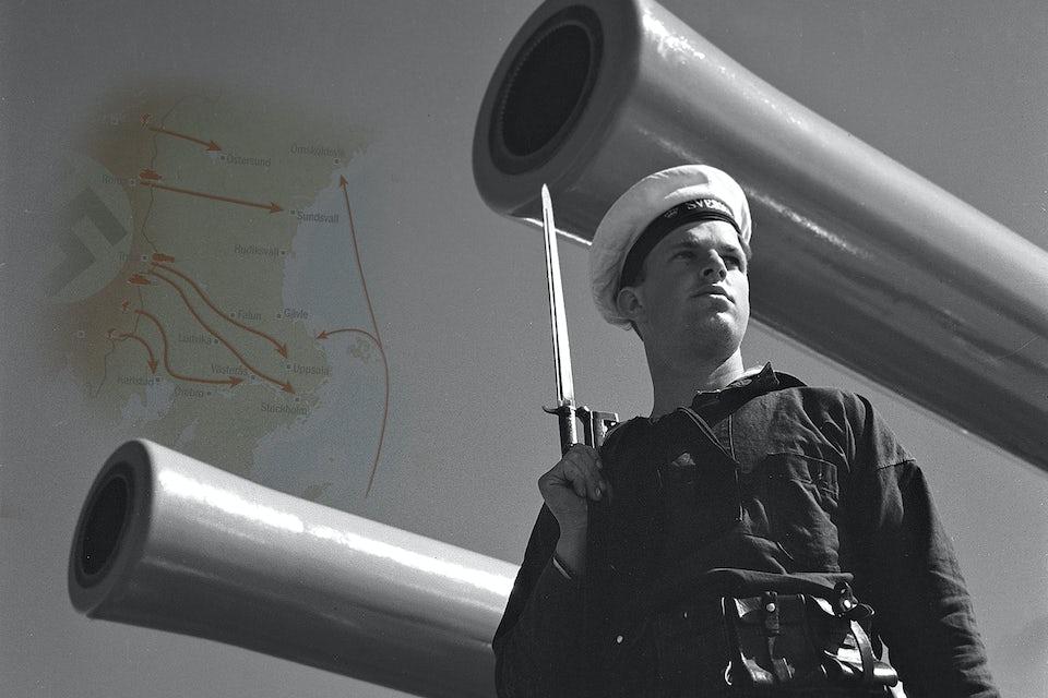 svenska flottan vakt 1940 jylOMmj